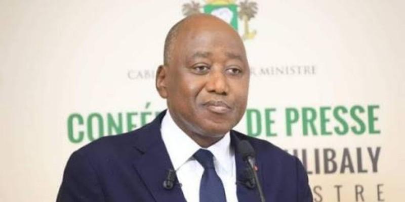 Amadou Gon Coulibaly, Premier ministre, chef du gouvernement, ministre du Budget et du Portefeuille de l'Etat. (DR)
