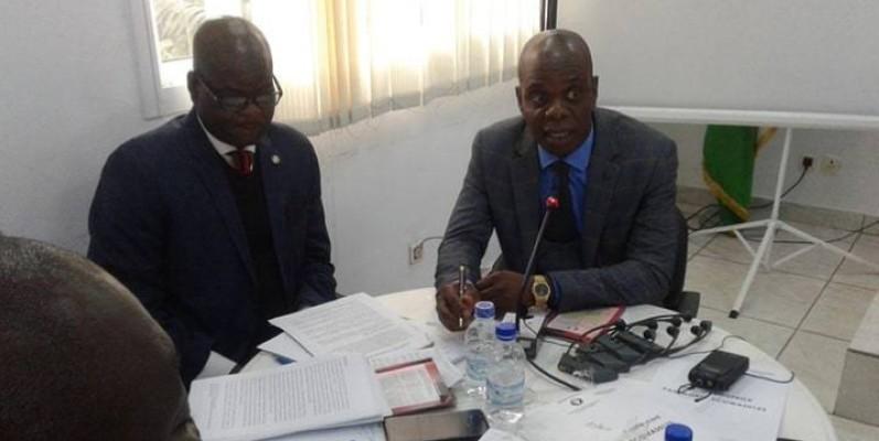 A travers différentes présentations, les agents de la Cour de Justice de la Cedeao ont expliqué au public, le fonctionnement de cette institution sous-régionale. (DR)