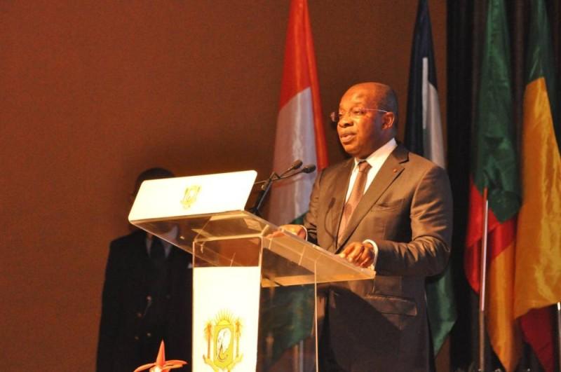 Le ministre ivoirien du Tourisme et des Loisirs, Siandou Fofana à l'ouverture du forum (DR)