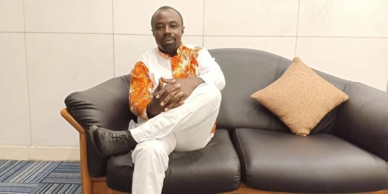 Allou Honoré, président de la Fédération ivoirienne de lutte. (DR)
