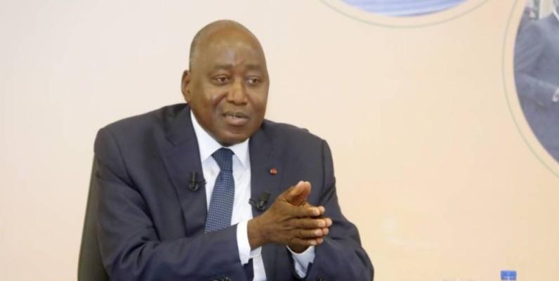Le Premier ministre Amadou Gon Coulibaly. (Bosson Honoré)