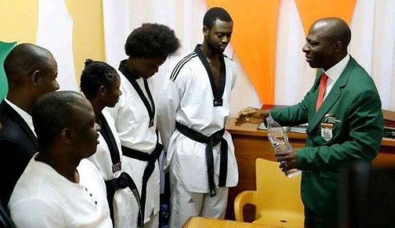La Fédération ivoirienne de Taekwondo met toutes ses forces dans les dernières batailles pour atteindre l'objectif de quatre qualifiés pour les Jeux de Tokyo 2020. (DR)