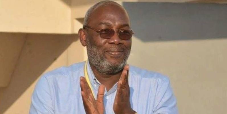 Augustin Sidy Diallo, président de la Fédération ivoirienne de football (Fif). (DR)