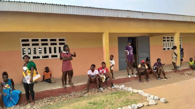 L'École primaire publique Didier Drogba de Samarifla inaugurée