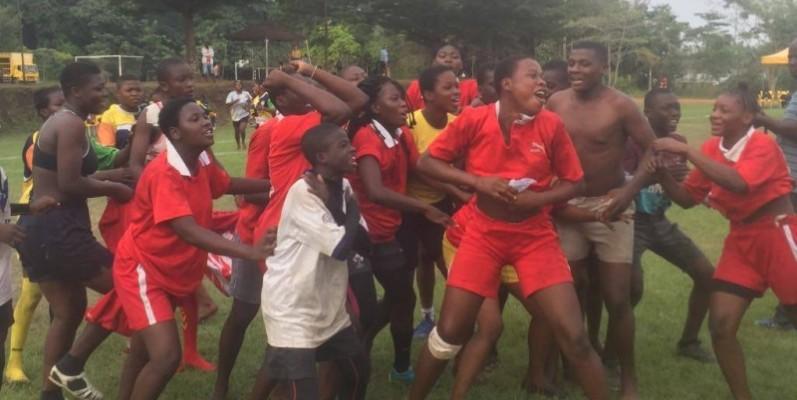 Les gamins se sont bien amusés au cours de ce Warytt 2020, Songon.(DR)