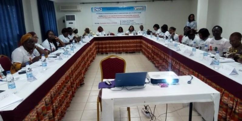 Prévention des conflits des femmes renforcent leur capacité (DR)