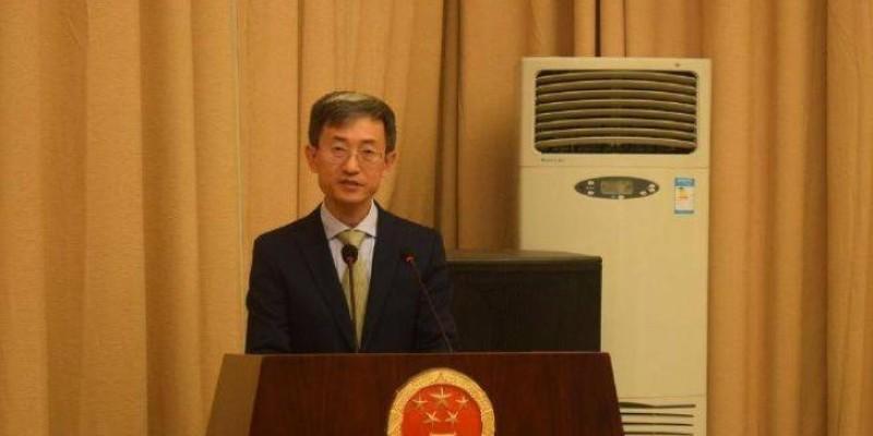 Wan Li, l'ambassadeur de la Chine en Côte d'Ivoire. (Dr)