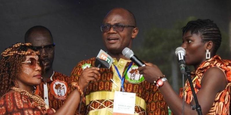 Alexandre Draman, commissaire général, a invité le peuple Djiboua à la mobilisation pour le succès du festival. (Dr)
