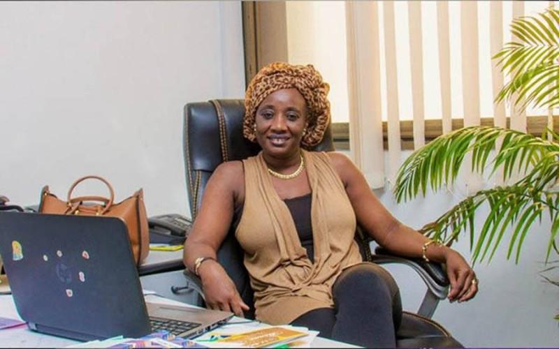 Dr Oumou Dosso, Directrice de la communication du ministère de l'Enseignement supérieur (DR)