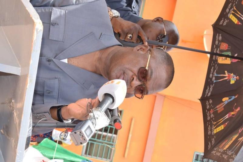 Issa Coulibaly, maire de Guiembé a annoncé la réalisation de plusieurs infrastructures
