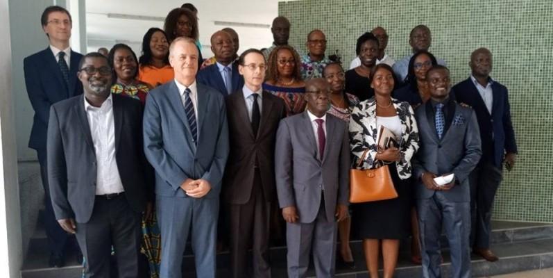 Les dirigeants de l'Insp et les diplomates français se sont félicités des opportunités qu'offre la nouvelle plateforme de collaboration. (DR)