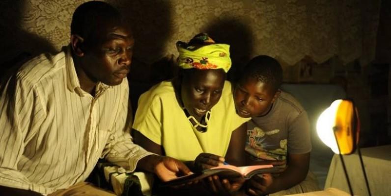 L'énergie solaire source de joie dans des familles. (DR)