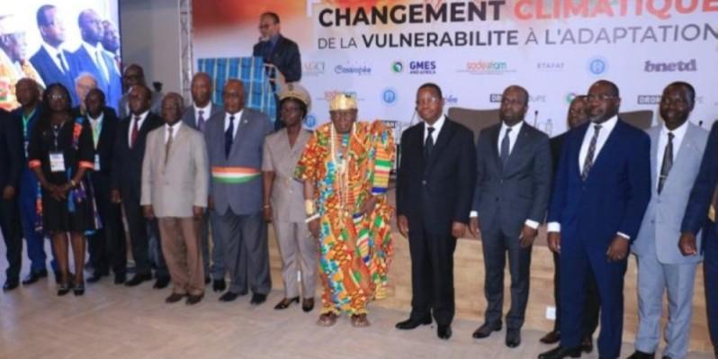 Les Journées géographiques de Côte d'Ivoire ont été ouvertes par le ministre Joseph Séka Séka et le maire Jean-Louis Moulot, parrain de l'événement. (DR)