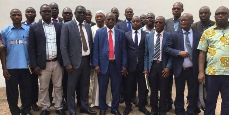 Le bureau des enseignants RHDP se dit prêt à investir le terrain pour assurer la victoire de leur parti, à la présidentielle de 2020.(DR)