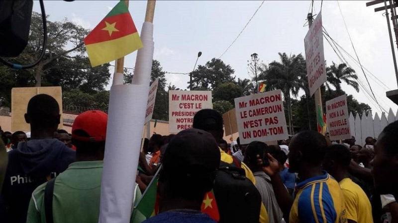 Au Cameroun, la rue répond  à Emmanuel Macron (DR)