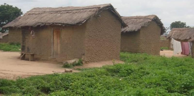 Une vue d'un village dans le nord du pays. (DR)