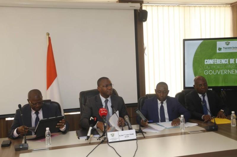 Les représentants des départements techniques, en première ligne dans l'application des programmes à fort impact sur les populations.