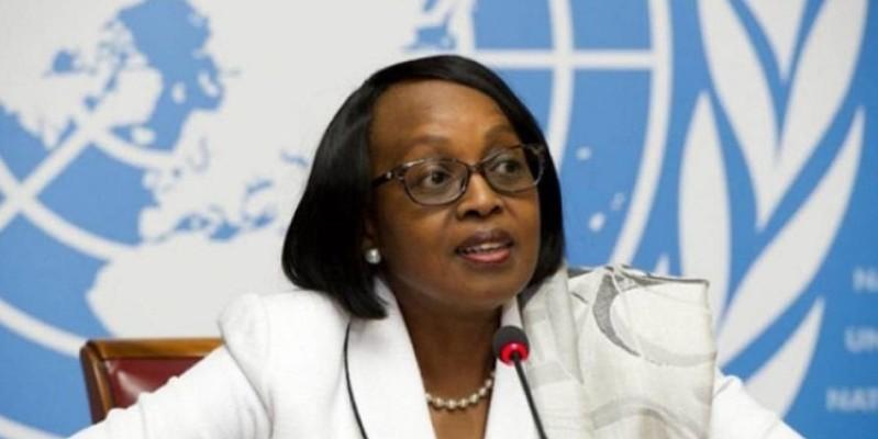 Dr Matshidiso Moeti, directrice régionale Afrique de l'OMS. (Dr)