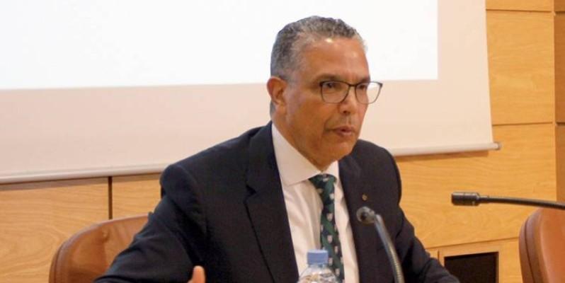 Abderrahim El Hafidi, président sortant de l'Association africaine de l'eau (AAE). (DR)
