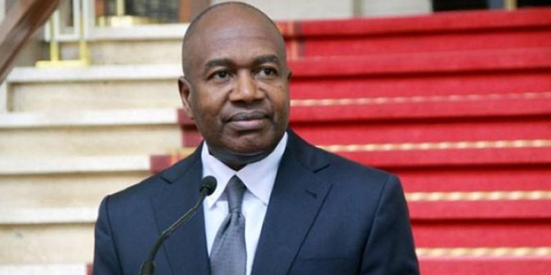 Le ministre de l'Administration du territoire et de la Décentralisation, Sidiki Diakité, a fait le point du processus d'enrôlement. (Dr)
