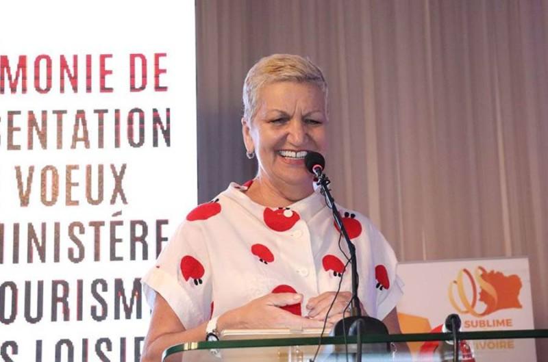 Marie Reine Koné, présidente de l'Association des professionnels du voyage en Côte d'Ivoire