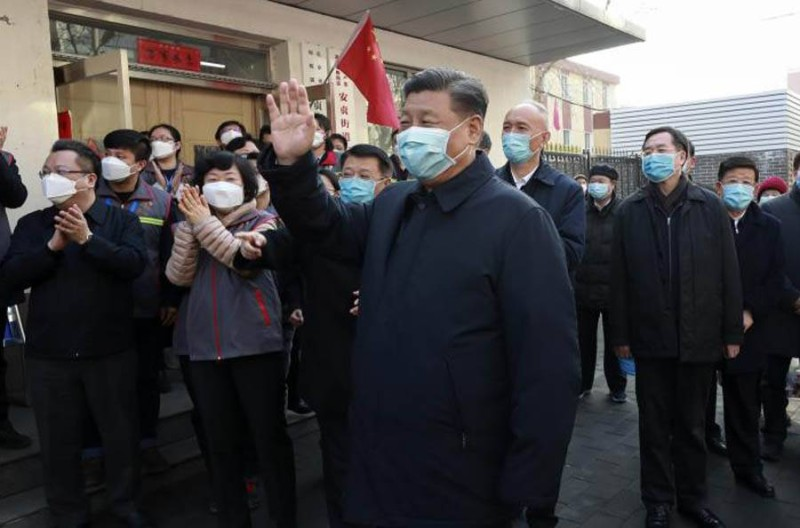 Le président chinois, la lutte contre l'épidémie du COVID-19 est actuellement la priorité absolue de son gouvernement (DR)