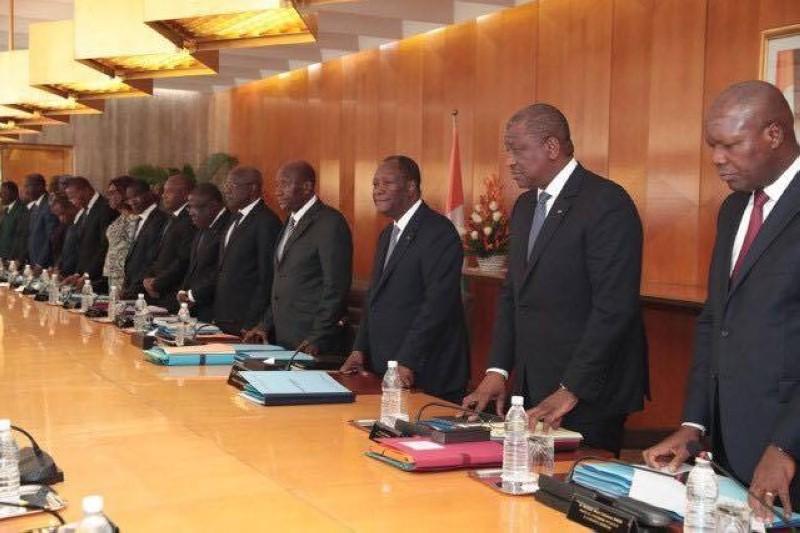 Le Conseil des ministres présidé par le Chef de l'Etat, Alassane Ouattara (DR)
