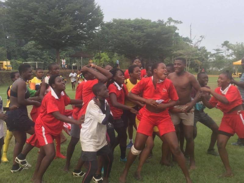 Les gamins se sont bien amusés au cours de ce Warytt 2020, Songon. (DR)