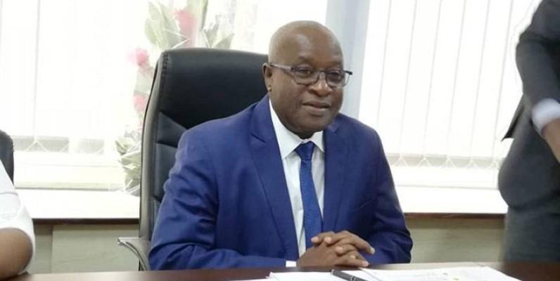 Lassina Fofana, Directeur général de la Caisse des dépôts et consignations. (DR)