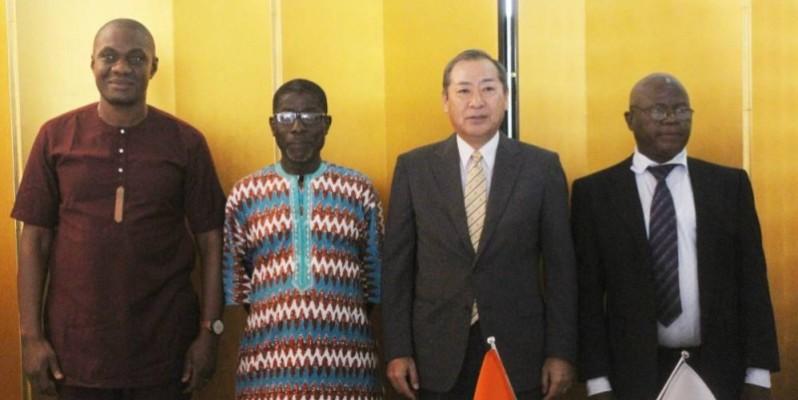 Signature d'accord entre la Côte d'Ivoire et le Japon. (Véronique Dadié)