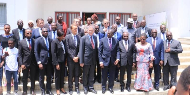 Plusieurs acteurs du monde entrepreneurial ivoirien ont pris part au lancement du programme. (Dr)