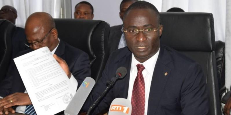 Oka Kouadio Séraphin, directeur de cabinet du ministre de la Fonction publique. (DR)
