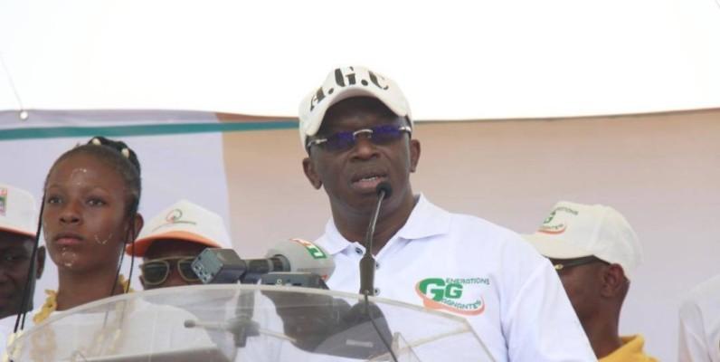 Diaby Lanciné, le président du mouvement citoyen, Générations gagnantes.   (DR)