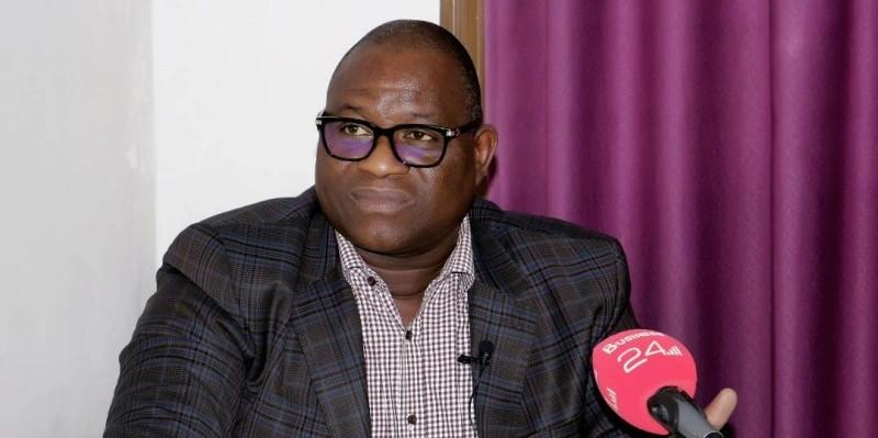 Touré Ahmed Bouah, président directeur général de Sophia S A. (DR)