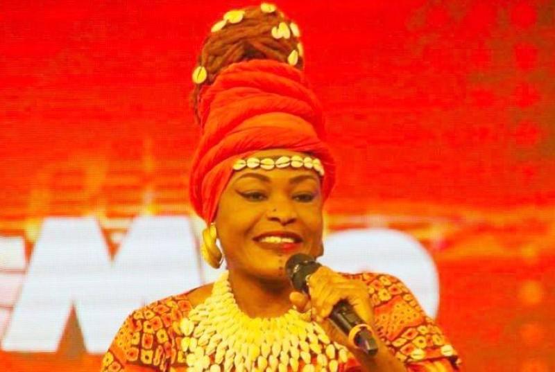 Laurette-Ouliyet, artiste-musicienne ivoirienne. (DR)