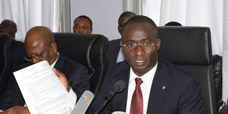 Oka Kouadio Séraphin est très remonté contre les colporteurs de rumeurs dont le seul objectif est de ternir l'image du ministère. (photo : dr)