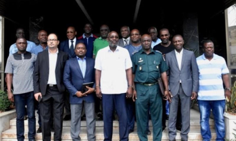 Les acteurs du football ivoirien vont écouter avec beaucoup d'attention le président Sidy Diallo. (DR)