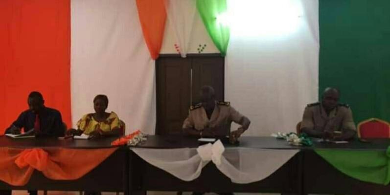Le préfet de Nassian, Laurent Kouakou Kouadio veut renforcer les mesures de lutte contre le trafic frauduleux des produits agricoles dans sa localité. (DR)