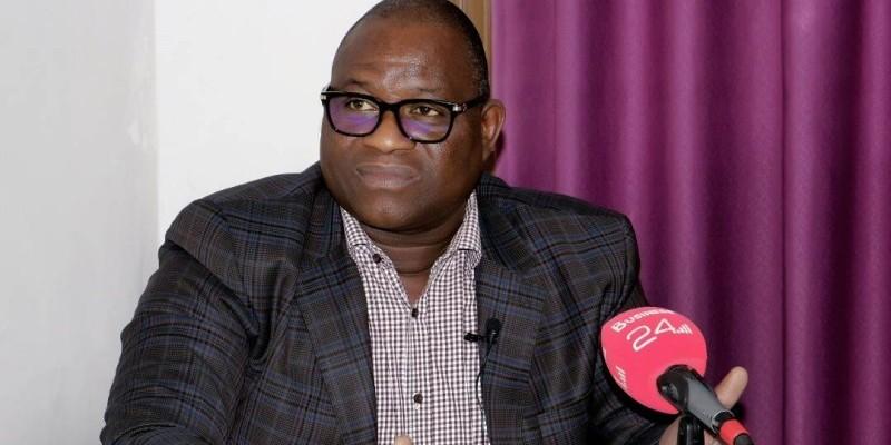Touré Ahmed Bouah, président directeur général de Sophia S.A et promoteur d'Akwaba city. (DR)