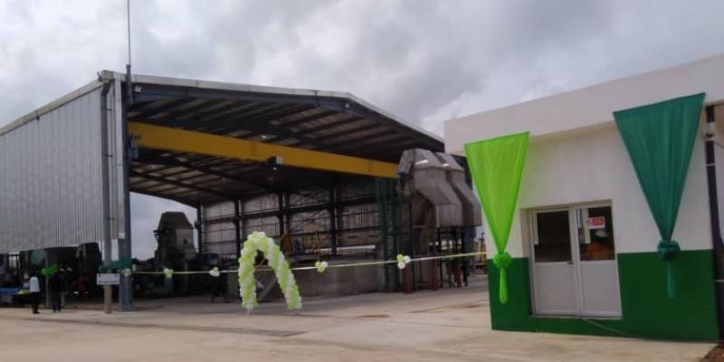 Une vue de l'usine Grel de Tbu au Ghana. (DR)