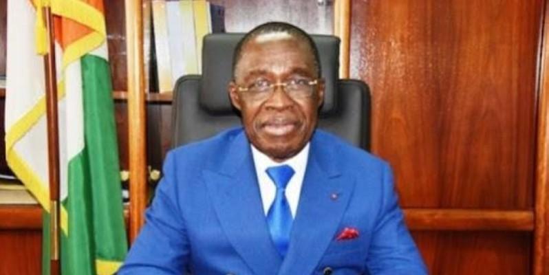 Aka Aouélé, ministre de la santé et de l'hygiène publique.(DR)