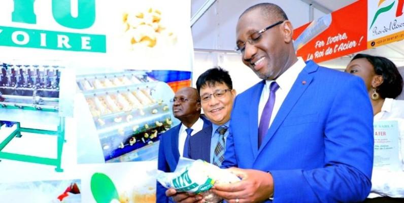 Diarrassouba Souleymane, ministre du Commerce et de l'industrie. (DR)