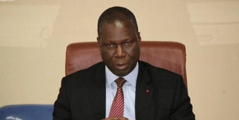 Maurice Kouakou Bandaman, ministre de la Culture et de la Francophonie. (DR)