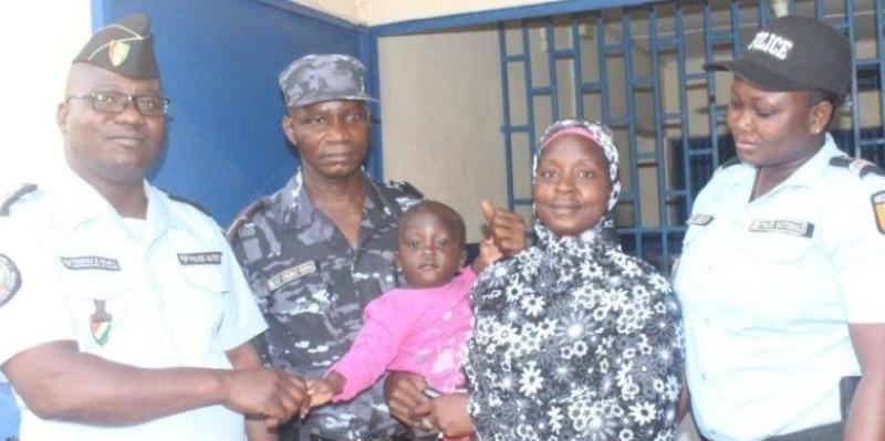 La fillette enlevée avait été remise à sa génitrice à Mankono. (AIP)