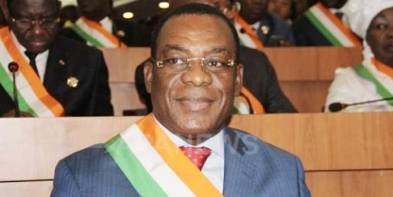 Pascal Affi N'Guessan, président du Front populaire ivoirien. (DR)