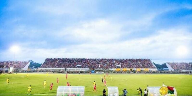 Une vue du stade de Barikadimy à Tamatave. (DR)