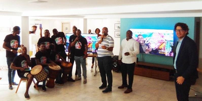 """L'émission """"Esprit Zouglou"""" lancée par la chaîne A  Ivoire. (DR)"""