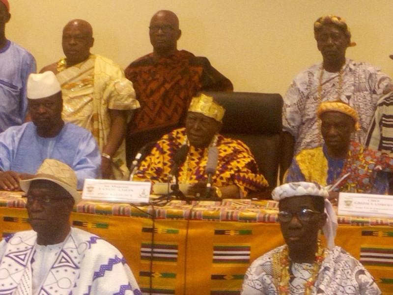 La Chambre des rois et chefs traditionnels apprécie à sa juste valeur le discours du Chef de l'État. (DR)