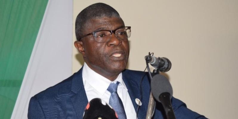 Pr. Méité Méké, directeur de la Chaire Unesco pour la culture de la paix de l'Université Félix Houphouët-Boigny. (Dr)