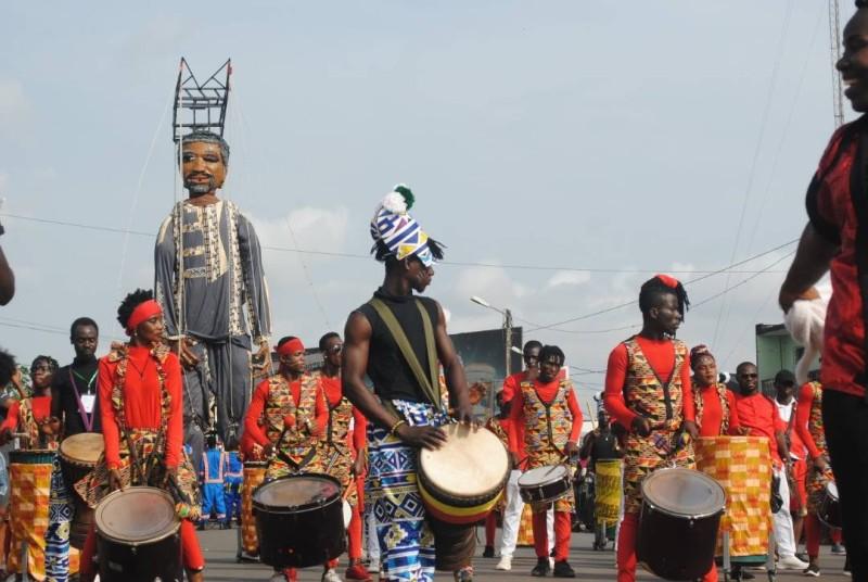 La parade carnavalesque, une grande innovation au cours de cette 11 édition du MASA (Ph: DR)